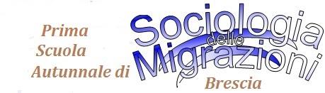 Logo scuola autunnale sociologia delle migrazioni 2017